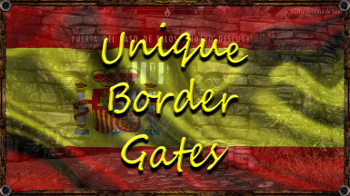 Unique Border Gates - Spanish - Translations Of Franky - TOF
