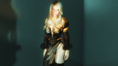 Black and Gold Robes -Demon Fet-