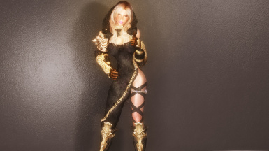 Hunting Grounds Outfit -Demon Fet-