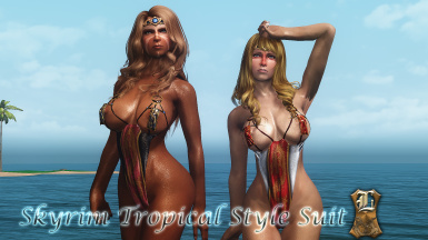 Skyrim Tropical Style Suit for UNPB