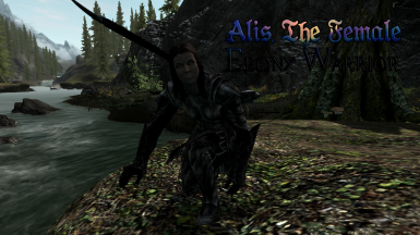 Alis The Female Ebony Warrior