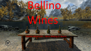 Bellino Winery Kit -- Custom Craftable Wines