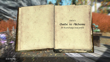 Salix's Guide to Alchemy (Skill book)