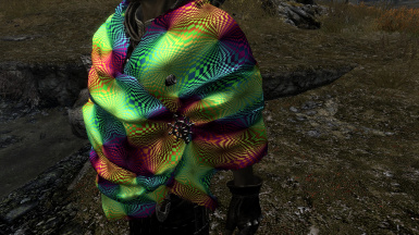 Blanket Scarf Colorful Retexture