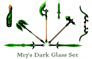 M17's Dark Glass Weapon and Armour Set
