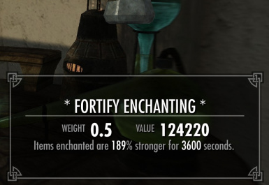 Enchanting and Smithing Potion Duration Increase