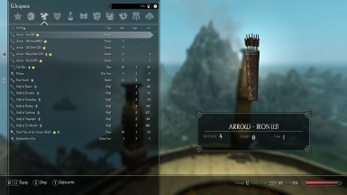 Enderal - Sorted Arrow Names