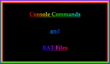 ENDERAL - Console Commands and BAT Files (ENGLISH)