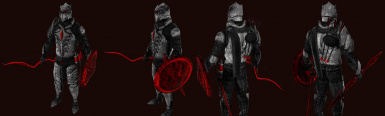 Vampire Knight Armor and Weapon Set