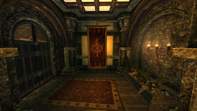 Enderal Sun Temple Quarters - Player's room