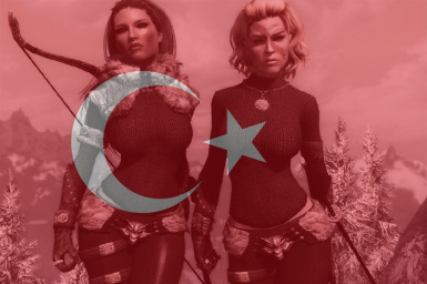 Northgirl Armor UNP and the Retexture Turkish Translation