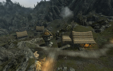 Settlements Expanded with Arthmoors Soljunds Sinkhole 03