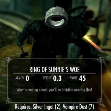 Ring of Sunnies Woe
