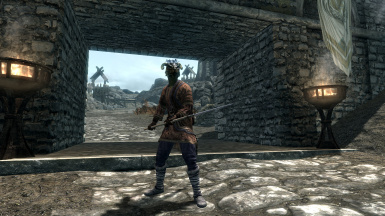 True Spear Combat - Weapons and Animations at Skyrim Nexus