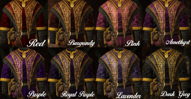 Standalone Archmage Robes Royal Retexture -19 colours-