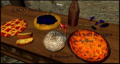 caco patch for more plants and recipes for hearthfires at skyrim