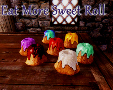 Eat More Sweet Roll