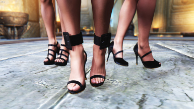 Charming High Heels CBBE HDT converted to NiOverride Heels system
