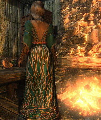 Fine Clothes replacement with witcher3 dress  v12
