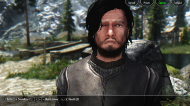 Jon Snow Preset for Racemenu users