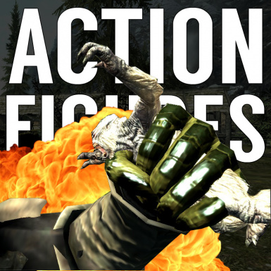Action Figures in Skyrim