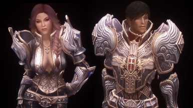 LadyHorus' TERA Armor for UUNP Female and Vanilla Male