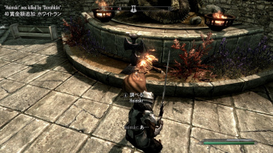 Kill Log Mod in Skyrim