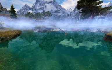 Skyrim with CoT - Water Patch Test