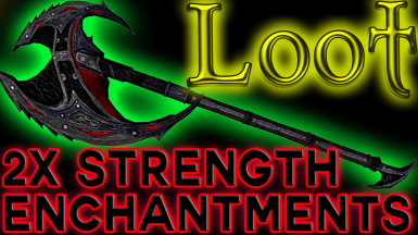 2x Enchantment Strength on Loot and Shop Inventory__Weapons-Armor-Staves-Jewelry-Mage Robes