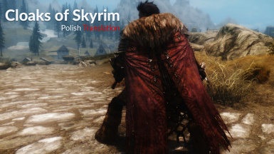 Cloaks of Skyrim - Polish Translation