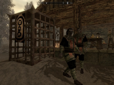 House Dres- Underhanded Slavery  (Mihail Immersive Add-ons- Solstheim)