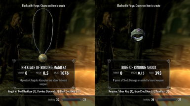 Enchant Bound Weapons at Skyrim Nexus mods and munity