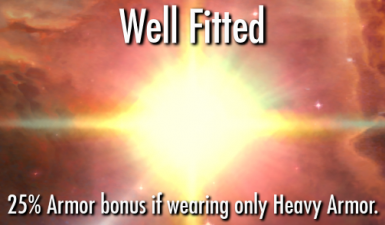Well Fitted - Custom Fit - Matching Set Perk Expansion Mod