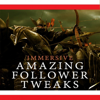 Immersive Amazing Follower Tweaks - polish translation
