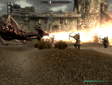 Dragon Attack on Forts
