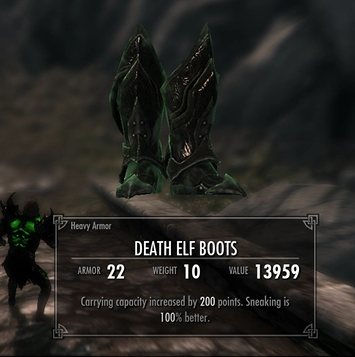 Death Elf Race