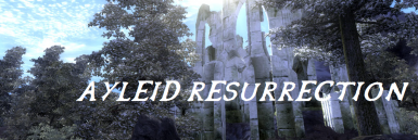 Wild Elf Race - Ayleid Resurrection