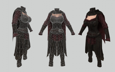 Vampire Royal Armor UUNP HDT and Bodyslide