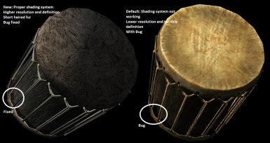 Realistic Instruments - Flute Lute and Drum HQ
