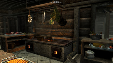 mlrose's Enhanced Lakeview Manor - Back Room Kitchen