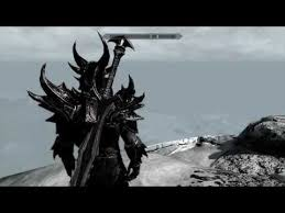 ultimate daedric great sword