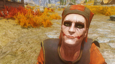 Cicero with Joker Facepaint