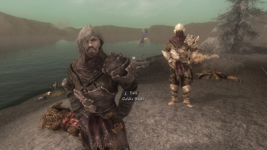 Two of the biggest BAMFs on Solstheim