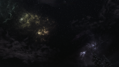 Skyrim Textures Redone - Enhanced Night Sky