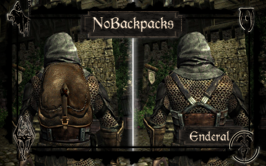 NoBackpacks 4 Enderal