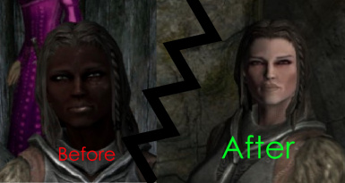 Dark Face Fix at Skyrim Nexus - mods and community