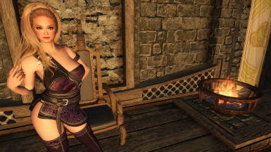 Mage Robes - CBBE - HDT - BodySlide
