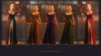 Elven Fairy Gown