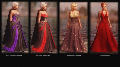 Vampire and Ballgown dresses