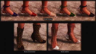 Elven Shoes and Boots